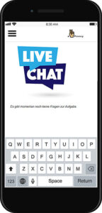 e-peasy live text chat